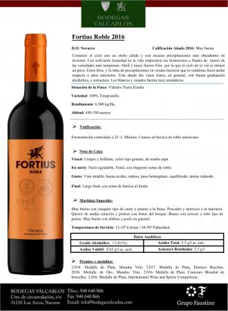 FORTIUS ROBLE 2016
