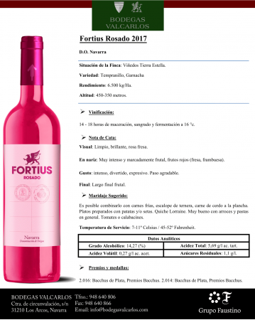 FORTIUS ROSADO 2017