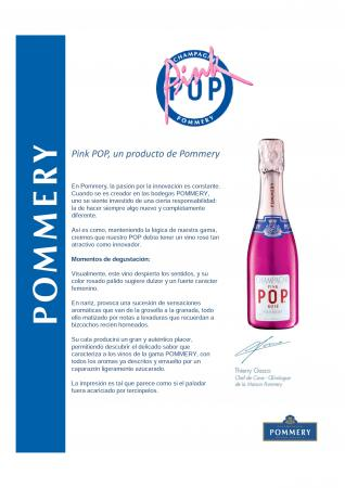 POMMERY PINK POP 20CL